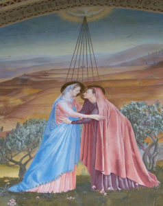 Picture in Church of the Visitation