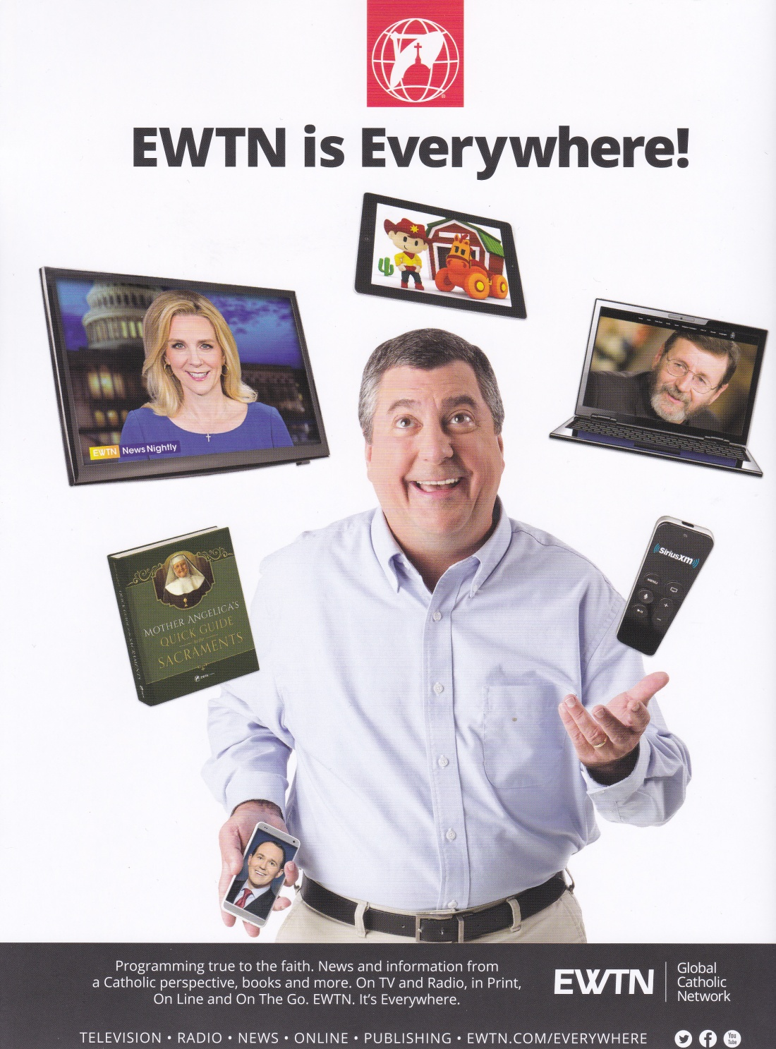 ewtn is everywhere! – seeking jesus in danbury